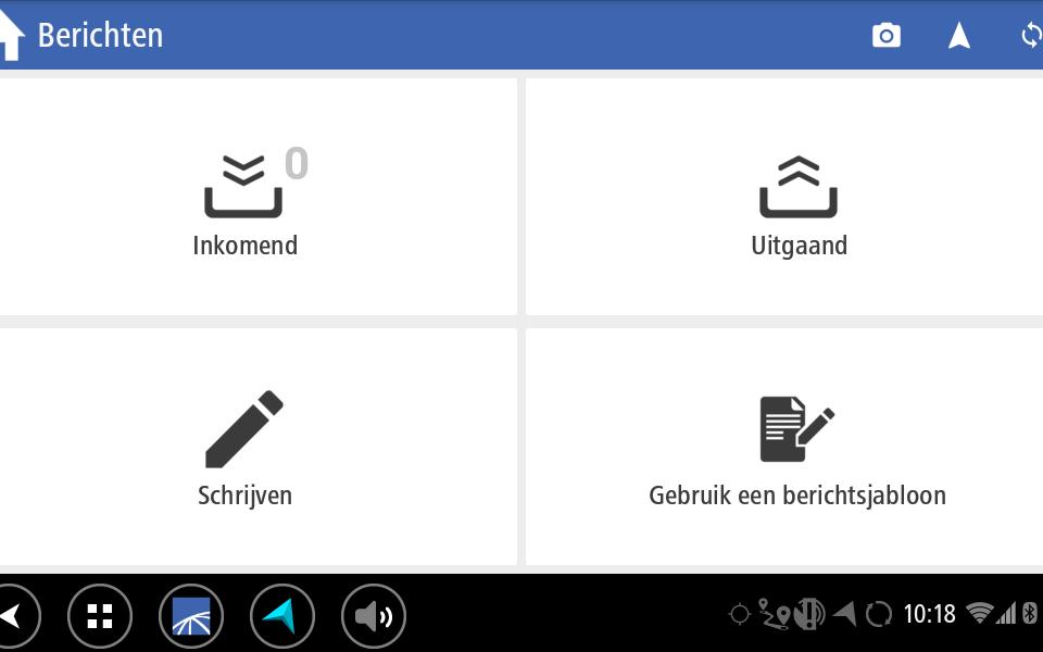 Berichten en mesage module