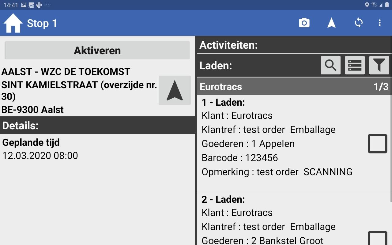 eMobile orders
