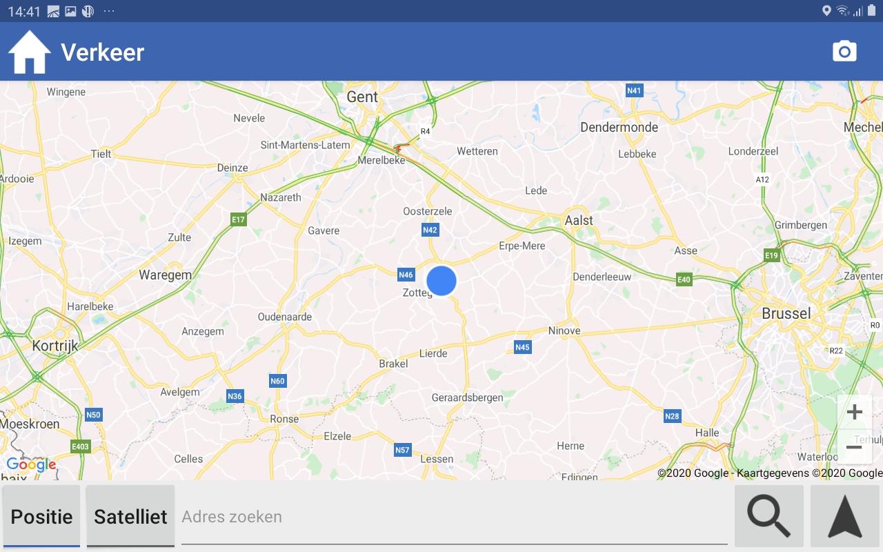 Navigatie met PTV, Google, of ALK
