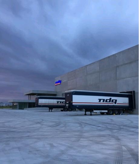 NDQ Logistics préparée pour l'avenir!
